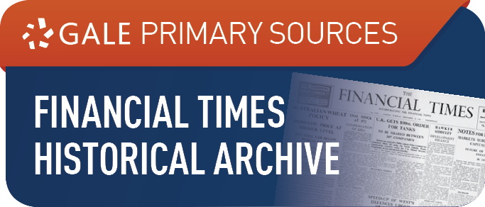Financial Times Historical Archive,1888-2016