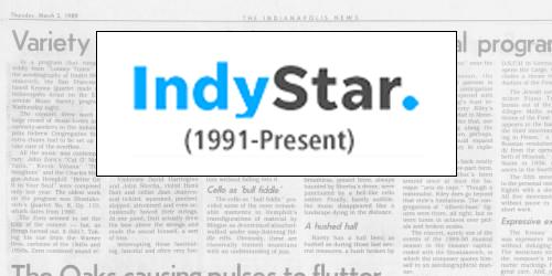 Indianapolis Star (1991-Present)
