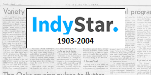 Indianapolis Star (1903-2004)