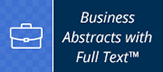 Business Abstracts and Full-text Icon