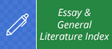 Essay and General Literature Index Icon