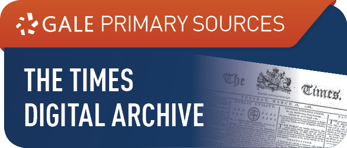 The Times Digital Archive, 1785-2014