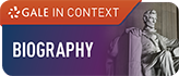 Biography (Gale in Context) Logo Button