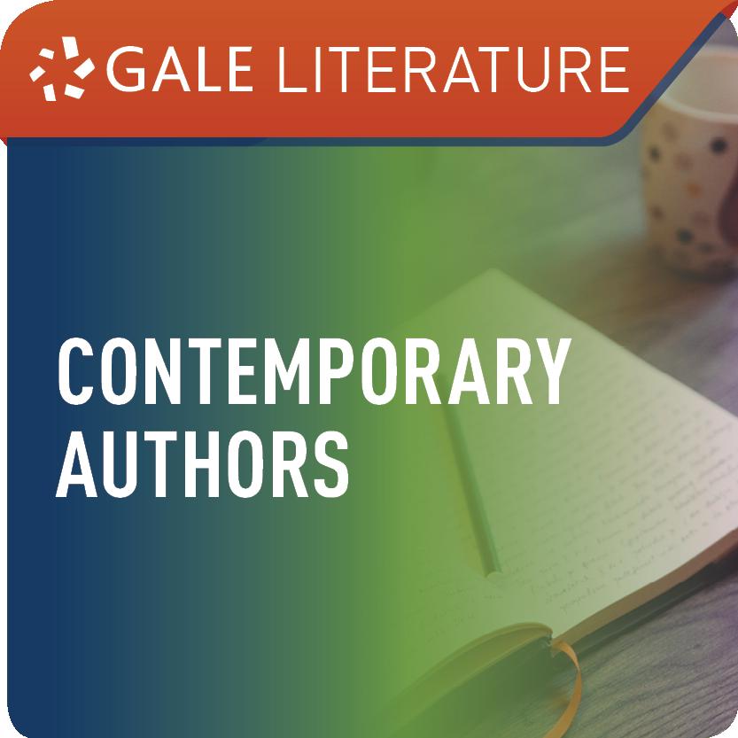 Contemporary Authors (Gale Literature) Web Icon