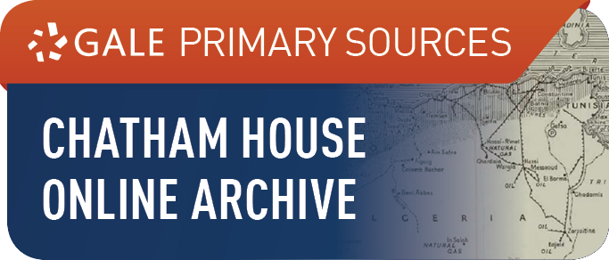 Chatham House Online Archive