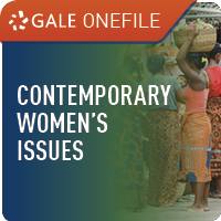 Contemporary Womens Issues (Gale OneFile) Web Icon