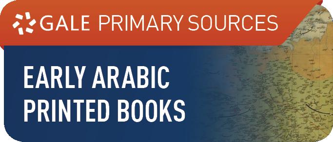 Early Arabic Printed Books