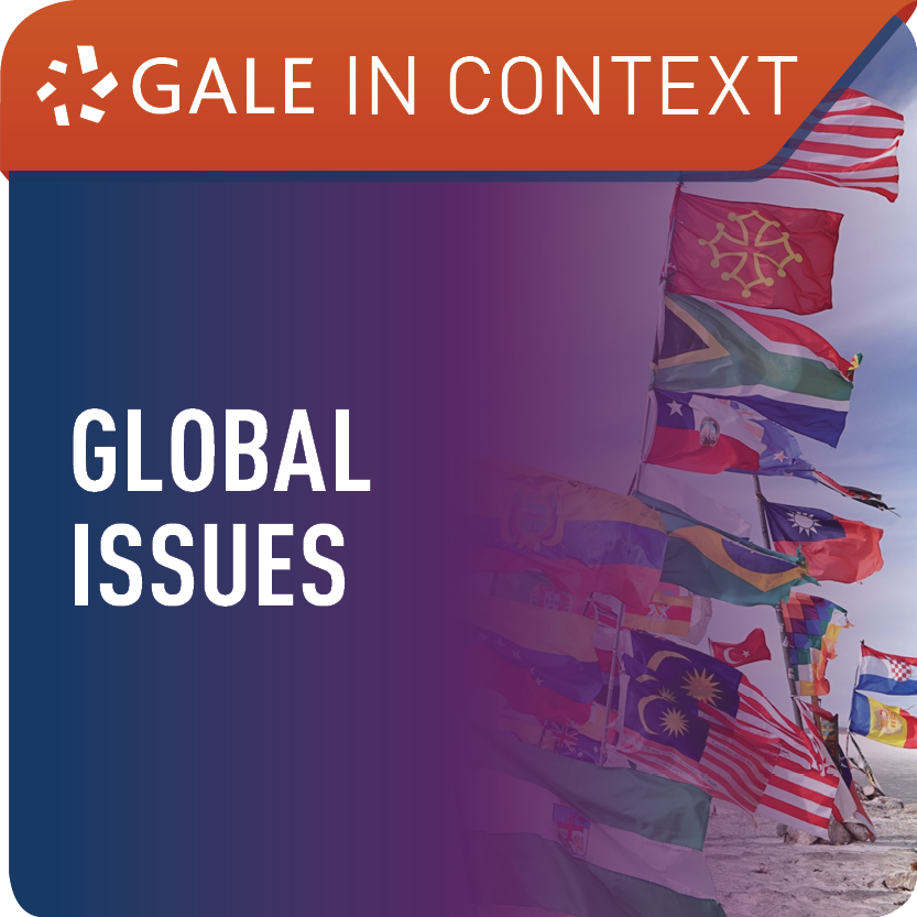 Global Issues (Gale In Context) Web Icon