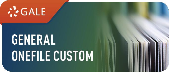 Gale General OneFile Custom Logo