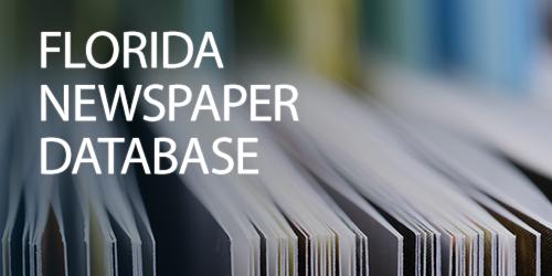 Florida Newspaper Database
