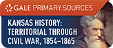 Kansas History, Territorial through Civil War Years, 1854-1865