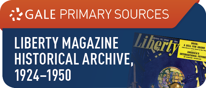 Liberty Magazine Historical Archive, 1924-1950
