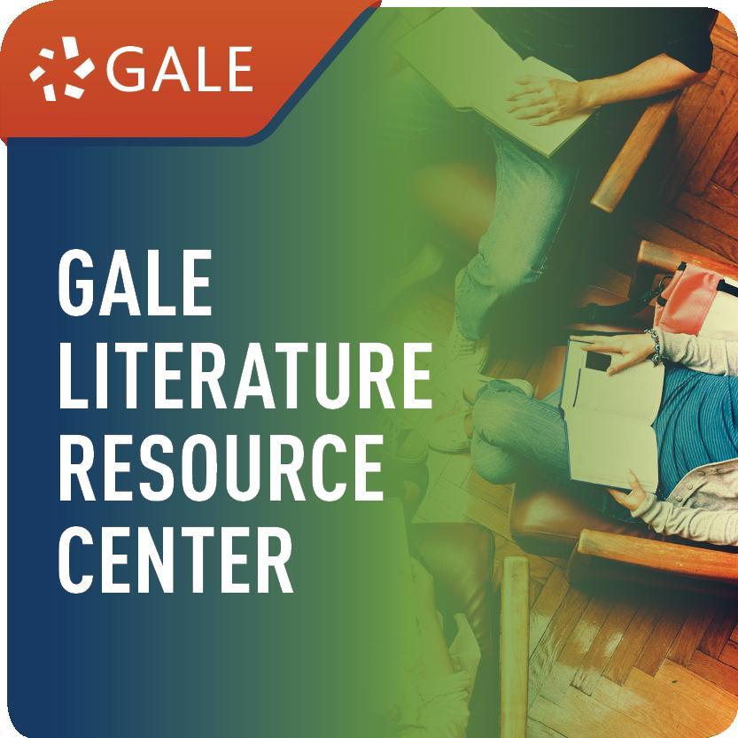 Literature Resource Center (Gale Literature) Web Icon