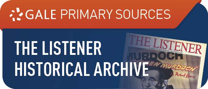 The Listener Historical Archive, 1929-1991