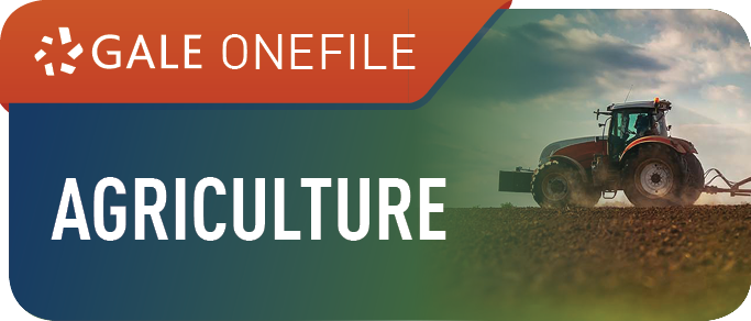 Gale OneFile: Agriculture Icon