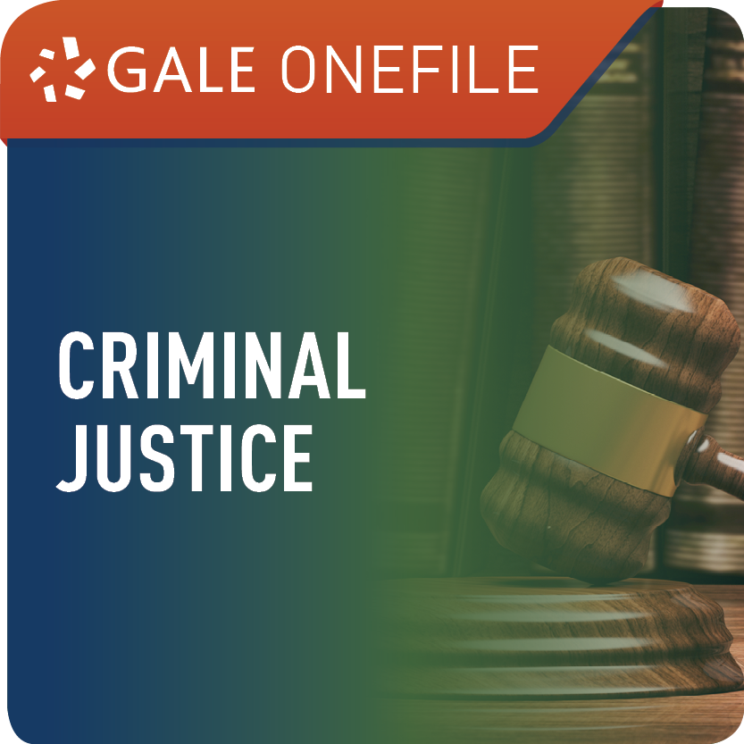 Criminal Justice (Gale OneFile) Web Icon