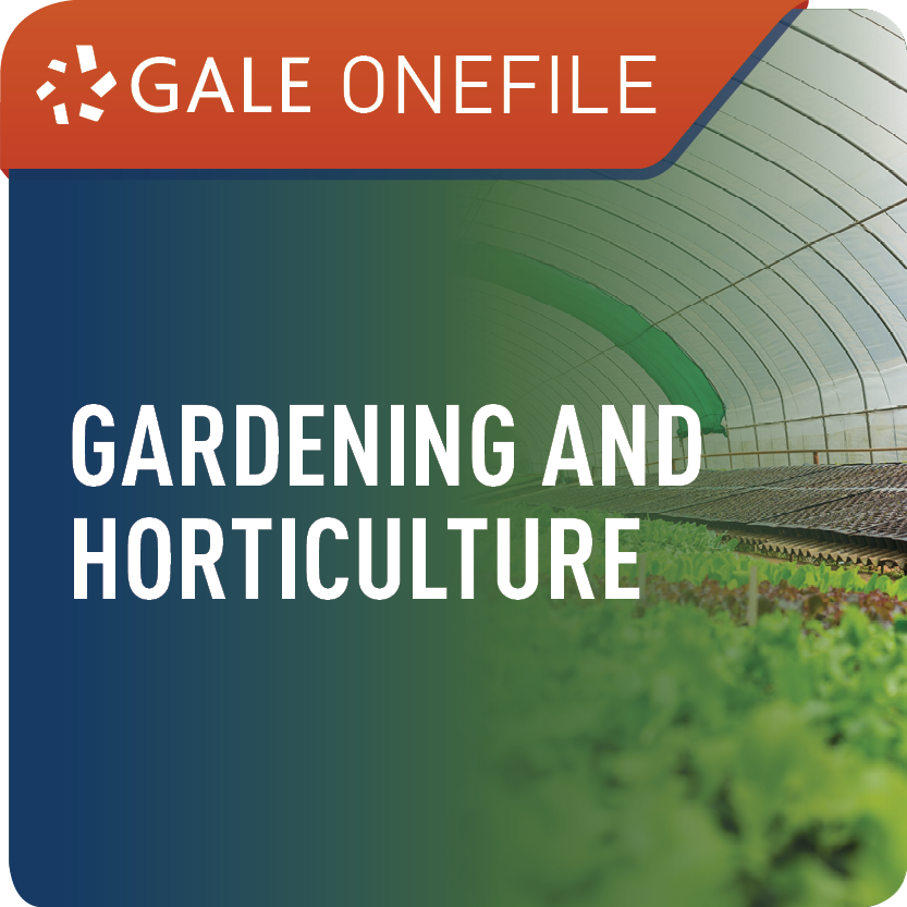 Gardening and Horticulture (Gale OneFile) Web Icon