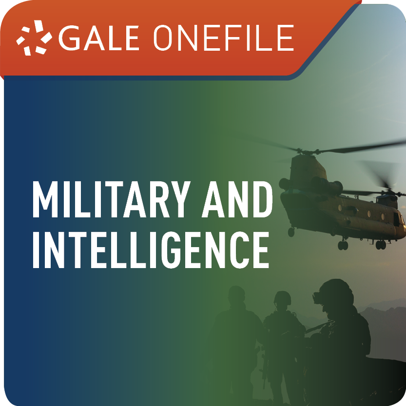 Military and Intelligence (Gale OneFile) Web Icon