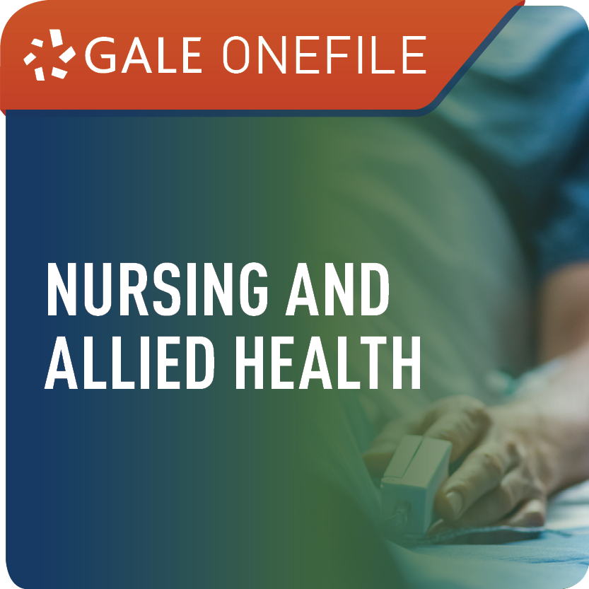 Nursing and Allied Health (Gale OneFile) Web Icon