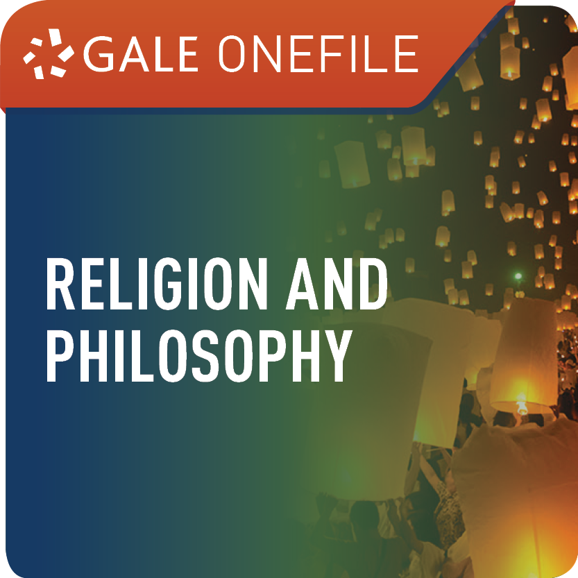 Religion and Philosophy (Gale OneFile) Web Icon