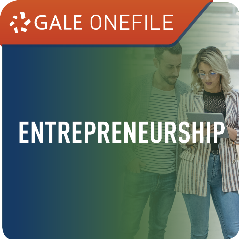 Entrepreneurship (Gale OneFile) Web Icon