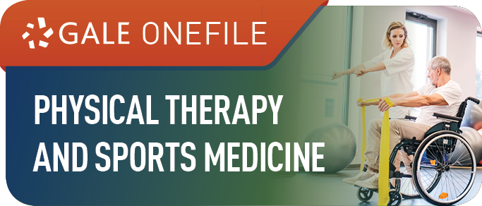 Gale OneFile: Physical Therapy and Sports Medicine Icon