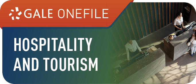 Gale OneFile: Hospitality and Tourism Icon
