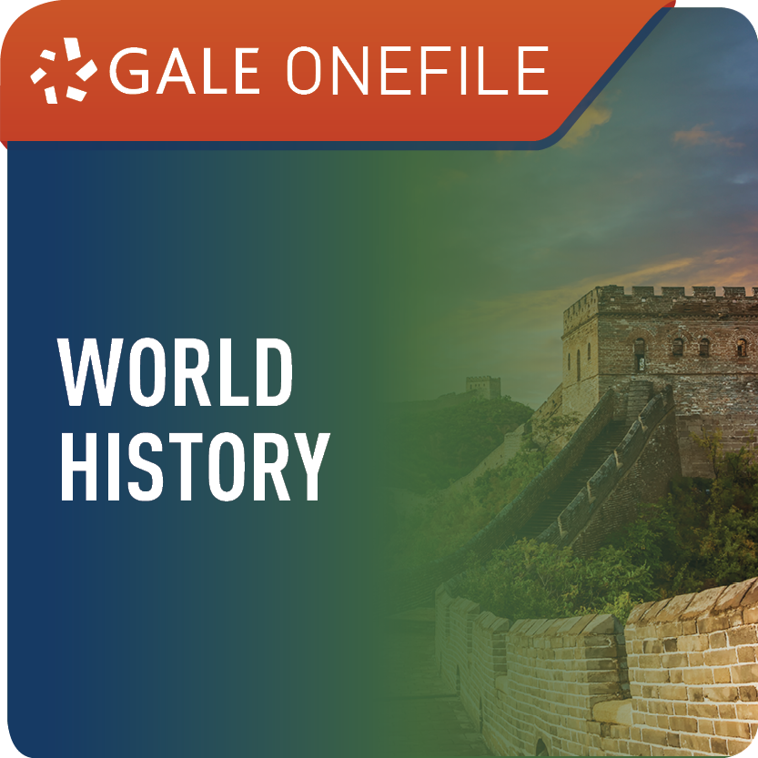 World History (Gale OneFile) Web Icon