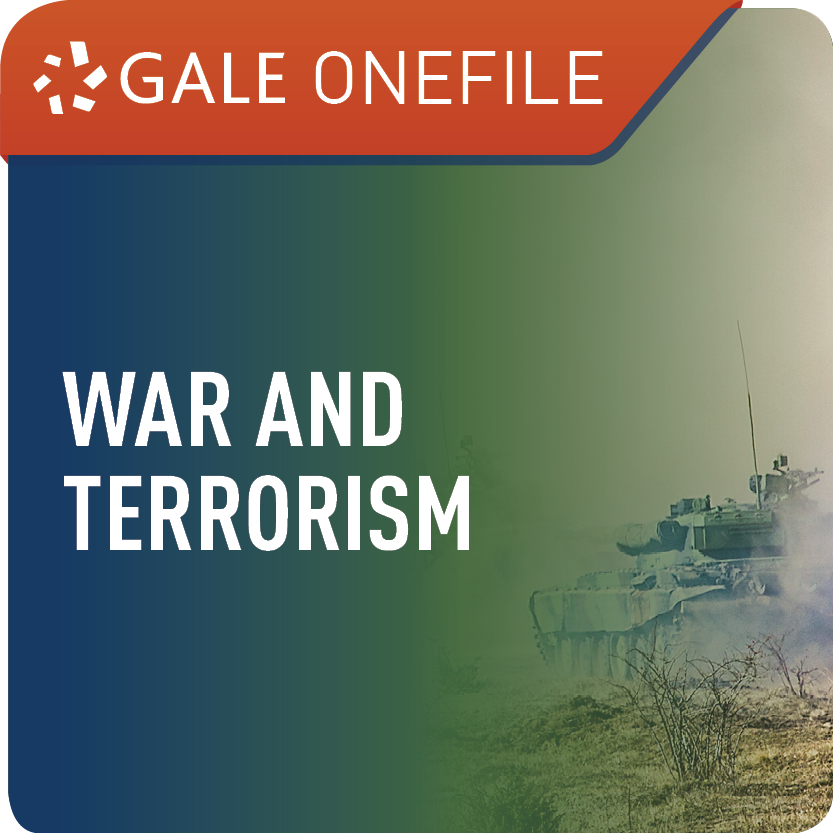 War and Terrorism (Gale OneFile) Web Icon