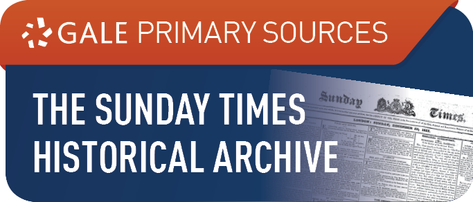 The Sunday Times Historical Archive, 1822-2006 Logo