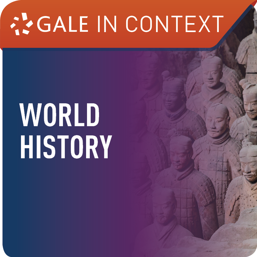World History (Gale In Context) Web Icon